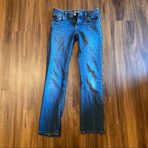 Old Navy | Girls adjustable waist jeans